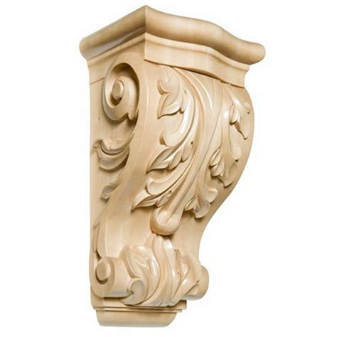 White River Corbels by Decorative Hardware Acanthus Corbels By White River