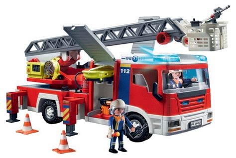 acheter playmobil 4820 camion de pompiers grande echelle 38 54 livr 233 le moins cher prix