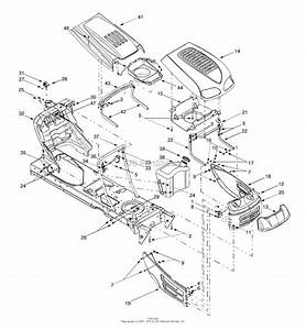 Mtd 13ai607h088  Tm03212002   2000  Parts Diagram For Hood