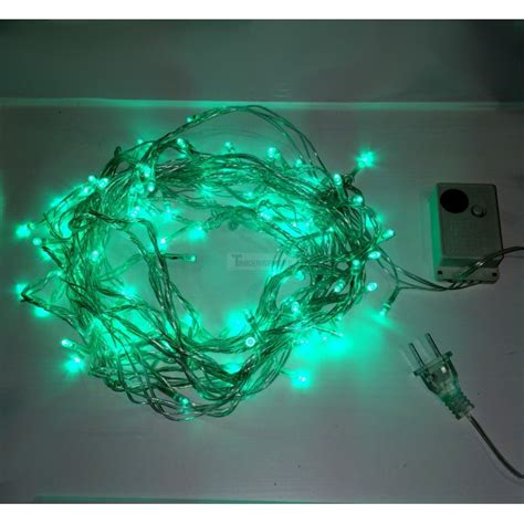 7 99 green 10m 8 mode led string lights lights