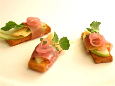 ham canapes 10 foods for a delicious open house hgtv