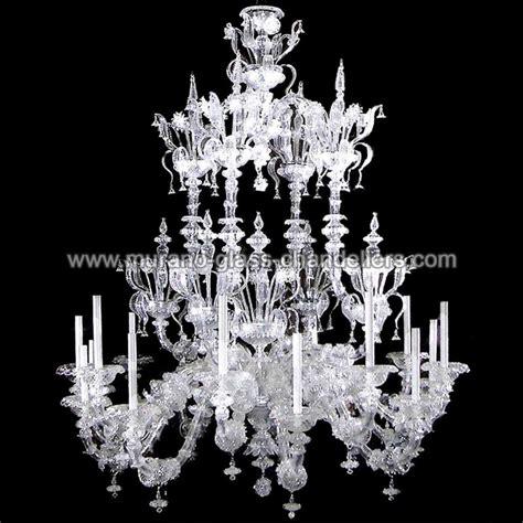 quot alida quot lustre en cristal de murano murano glass chandeliers