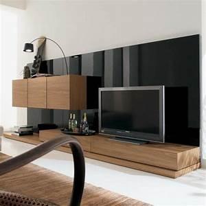 Tv Wand Modern : 1000 id es sur le th me mur derri re tv sur pinterest camoufler les c bles murs de galerie ~ Indierocktalk.com Haus und Dekorationen