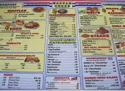 waffle house menu   Ex...Waffle Menu