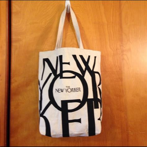 new yorker rucksack the new yorker bags tote bag poshmark