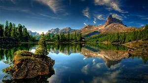 Landscapes, Nature, Lakes, Scene, Wallpaper