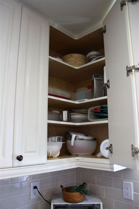 upper corner cabinet kitchen corner solutions