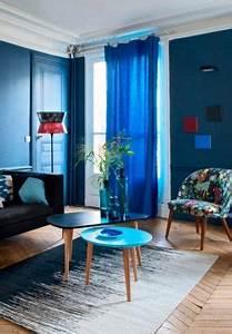 Une Dferlante De Bleu Dans La Dco La Deco Dco Maison