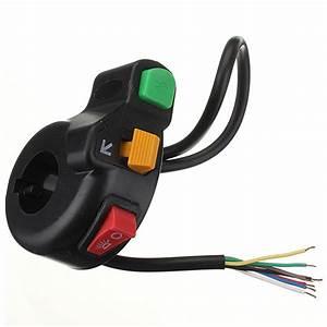 Buy 3in1 Motorcycle Pit Bike Atv Horn Turn Signal Light