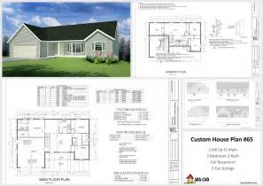 custom plans house and cabin plans plan 65 custom home design dwg and pdf