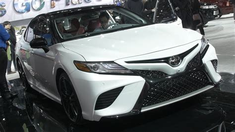 2018 Toyota Camry At The 2017 Detroit Auto Show