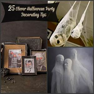 Deco Halloween Diy : 19 diy clever halloween party decorating tips ~ Preciouscoupons.com Idées de Décoration