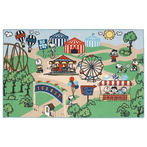 Soccer Area Rug nourison overstock friends circus multi 3 ft 3 in x 5 ft