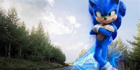 Sonic the Hedgehog Can't Run 65 on New Poster | CBR