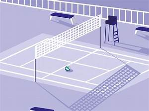 Volleyball Court Dimensions Size Guide  Illustration