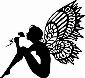 afbeeldingsresultaat voor free fairy silhouette fairy With fairy cut out template