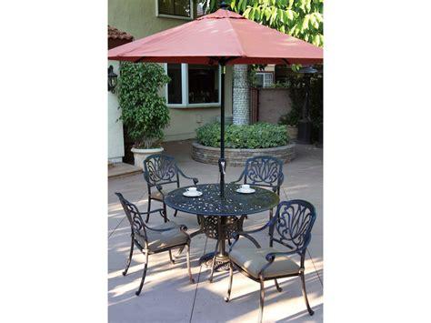 darlee elisabeth 3 cast aluminum patio bistro set darlee outdoor living standard elisabeth casual cushion Inspirational
