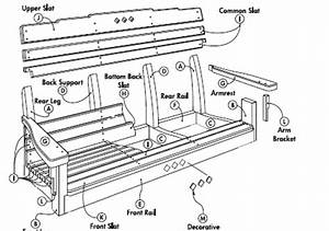 Free Swing Plans - Porch or Lawn - Woodwork City Free
