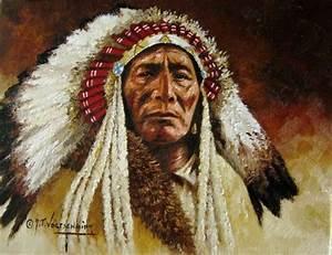 CHIEF big spring blackfoot warrior - Other & People ...