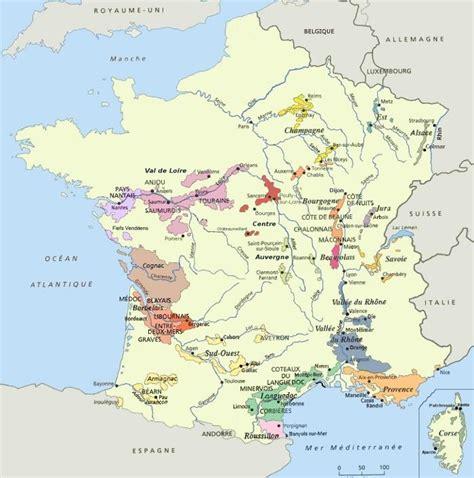Acheter Carte Des Vignobles Français by Info Carte Vignobles