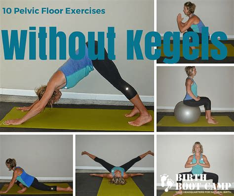 pelvic floor exercises strengthen the pelvic floor without kegels birth boot