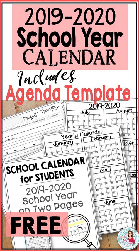 school calendar students teachers subject