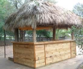 Tiki Hut Concession Stand