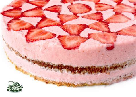 la cuisine aux images la cuisine de bernard gâteau aérien aux fraises