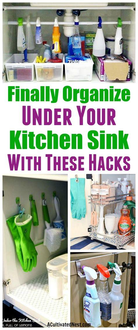 kitchen sink organizing ideas how to organize the kitchen sink 8697