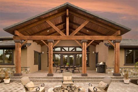 Stunning Patio Roof Post And Beam Sizes Of How To Dig A