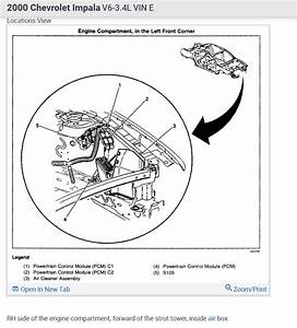 Where Is The Ecm  Where Is Located The Ecm On A Chevrolet Impala