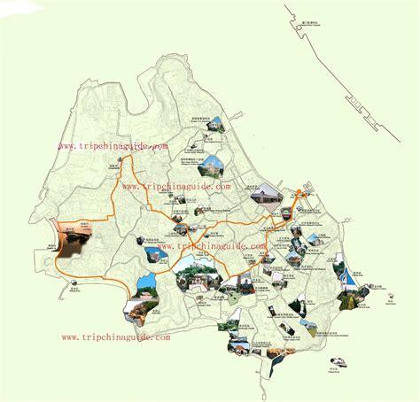xiamen gulangyu island map maps  xiamen