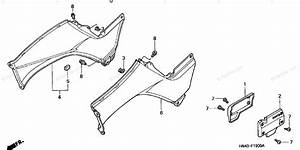 Honda Atv 2003 Oem Parts Diagram For Body    Cover