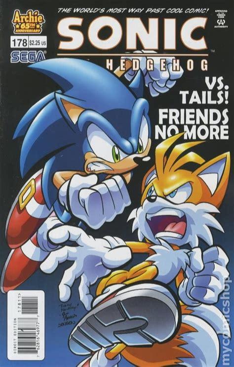 sonic  hedgehog  archie comic books