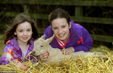 Rudolph the lamb has made two sisters very happy this ...