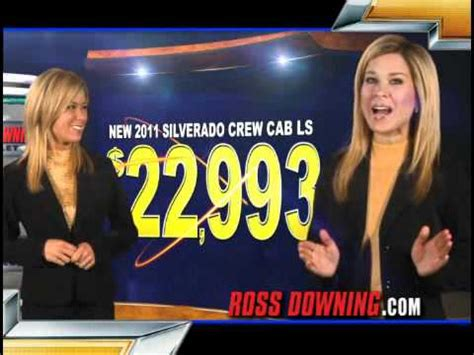 ross downing chevrolet  tv ad  youtube