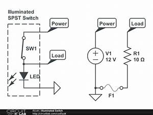 Illuminated Spst Switch