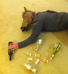 Passed Out Horse | Horse Head Mask | Pinterest | The mask ...