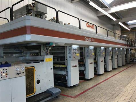 rotogravure  cerutti printing press  sale galred