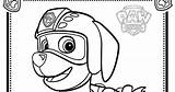 Paw Patrol Zuma Coloring Pages Colouring Kit Template sketch template