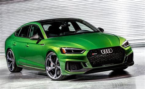 New York Motor Show 2018 2019 Audi Rs5 Sportback Revealed