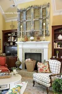 60, Beautiful, Eclectic, Fireplace, Decor, 27