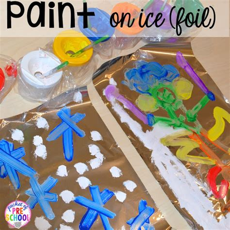 winter themed activities and centers snowman at 519 | Slide19 1