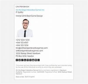 16 corporate email signature templates free samples With company email signature template