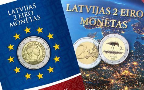 Monētu albums Latvijas 2 eiro monētām   Parmonētam.lv