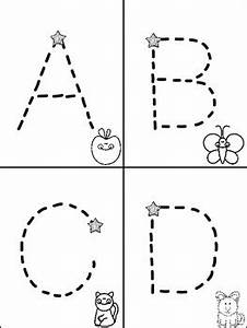 Alphabet mini books for tracking letters freebie for Letter tracing books