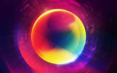 Colorful Abstract Circle Orb Backgrounds Desktop Wallpapers