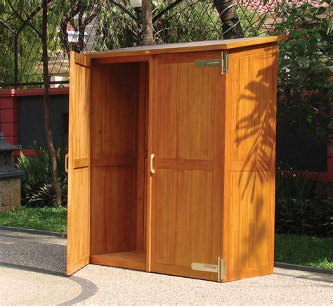 patio storage cabinet hardwood garden storage cabinet