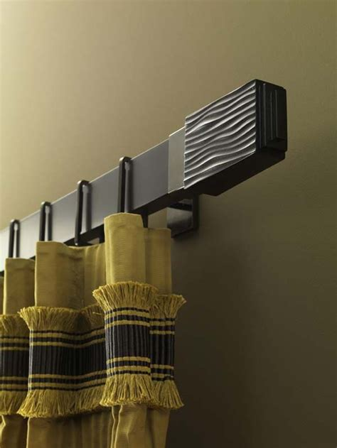Chic Curtain Poles Add Syle   Rooms  Style