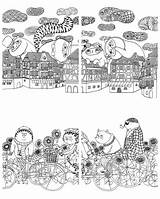 Million Cats Coloring Kayliebooks sketch template